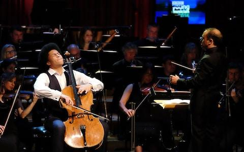 Sheku Kanneh-Mason performing in the Final of BBC Young Musician 2016