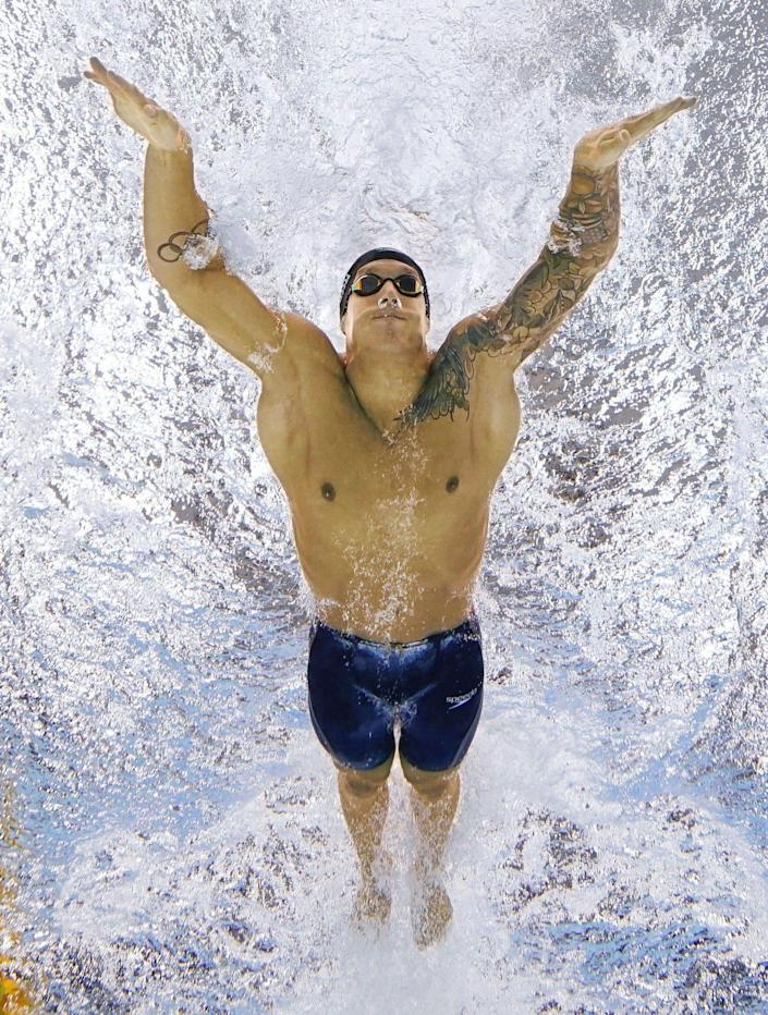 <p>Dressel set not one, but two records in the 100m butterfly — the Olympic and the world.</p>