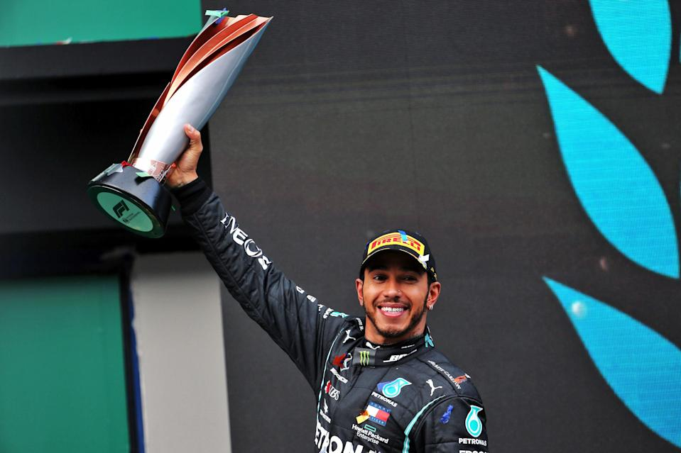 Lewis Hamilton has been knighted in the New Year Honours list (PA)