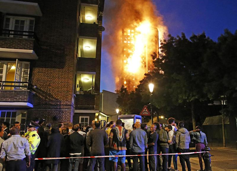Grenfell Tower: Hundreds of people were displaced by the fire in June: Nigel Howard