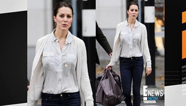 Kate Middleton goes casual
