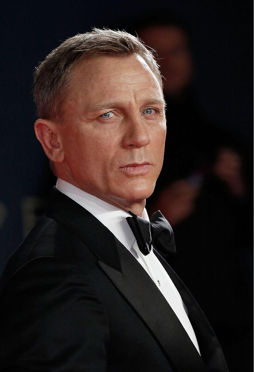 """<p>Craig is no doubt tired of the Bond series. When asked if he could imagine doing another Bond movie in 2015, Craig told <em><a href=""""https://www.timeout.com/london/film/daniel-craig-interview-my-advice-to-the-next-james-bond-dont-be-shit"""" rel=""""nofollow noopener"""" target=""""_blank"""" data-ylk=""""slk:Time Out"""" class=""""link rapid-noclick-resp"""">Time Out</a></em>, """"Now? I'd rather break this glass and slash my wrists. No, not at the moment. Not at all. That's fine. I'm over it at the moment. We're done. All I want to do is move on.""""</p>"""