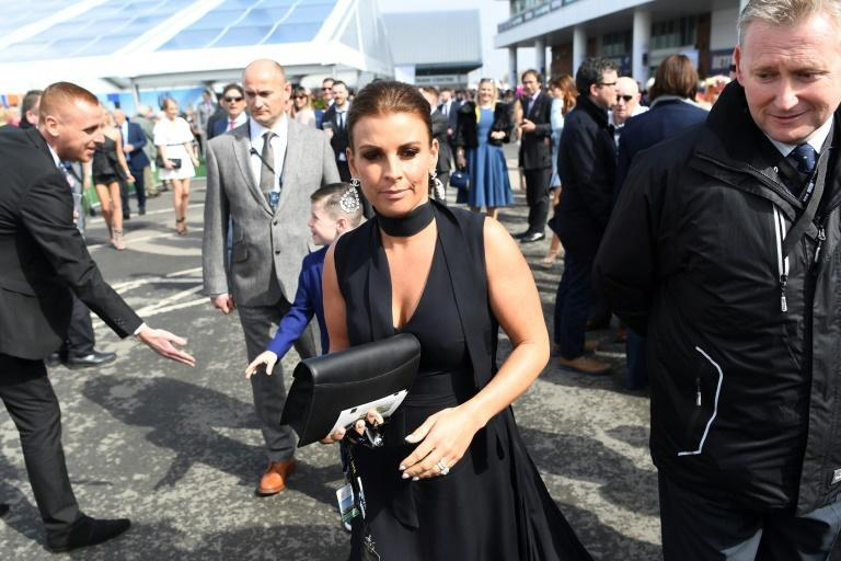 The row between Coleen Rooney (pictured) and Rebekah Vardy has reached the courts