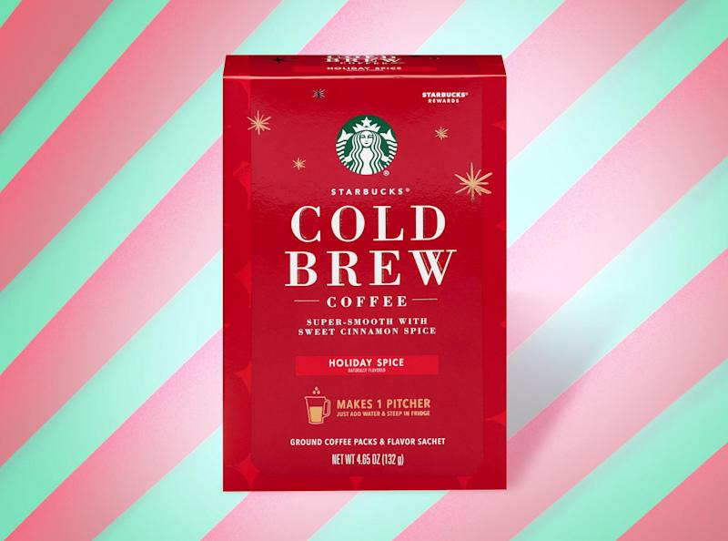 You can now make Starbucks' Holiday Spice Cold Brew at home