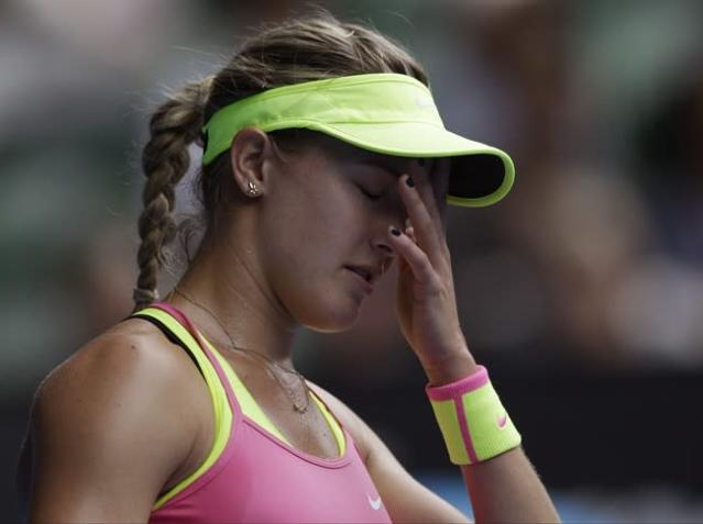 Eugenie Bouchard withdraws from another tournament, this one in Monterrey, Mexico