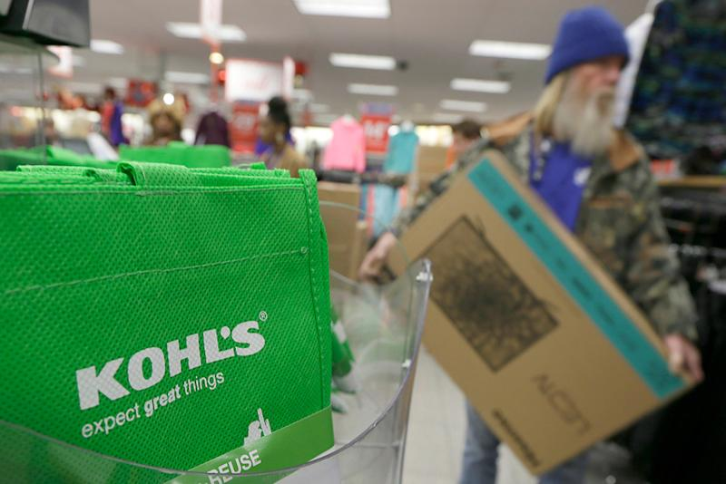 Kohl's and JC Penney Report Declining Holiday Sales