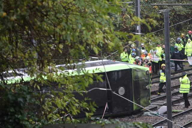 Seven people were killed in the crash (Steve Parsons/PA)