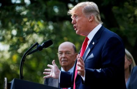 Trump administration denies possible ouster of Commerce Secretary Ross