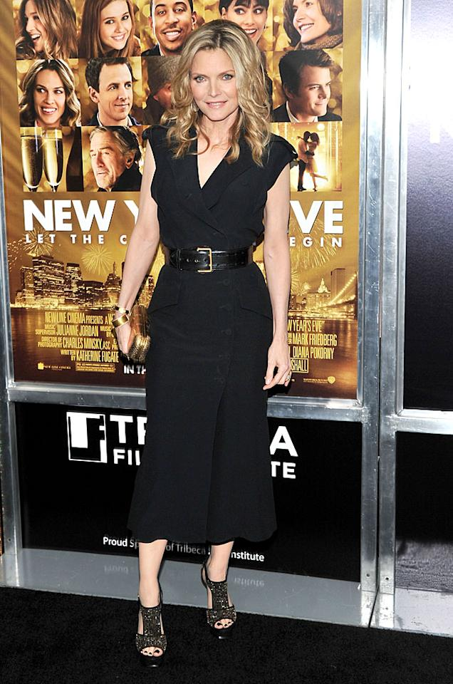 "<p class=""MsoNoSpacing"">For Michelle Pfeiffer, turning 50 was bittersweet. The actress, now 53 and always known for her good looks, says she had to learn to accept getting older – and now, she owns it. ""Honestly, there's certainly a mourning that takes place,"" she has said. ""I mourn the young girl, but I think that what replaces that is a kind of a liberation, sort of letting go of having to hold on to that. Everyone knows you're 50. So you don't have to worry about not trying to look 50. And then it becomes, 'Hey, she looks good for her age.'""</p>"