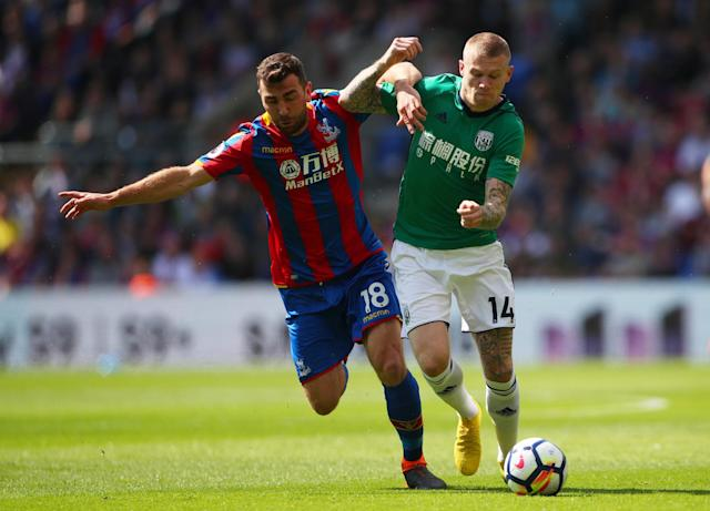 Crystal Palace vs West Brom LIVE: Premier League 2017-18 latest score, goal updates, TV, how to follow online, team news, line-ups at Selhurst Park
