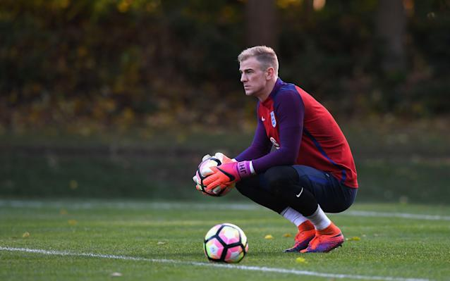 <span>Hart remains a firm fixture at international level</span> <span>Credit: GETTY IMAGES </span>