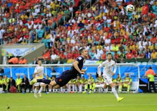 Robin van Persie's goal for Netherlands against Spain was a sight to behold. (AP)