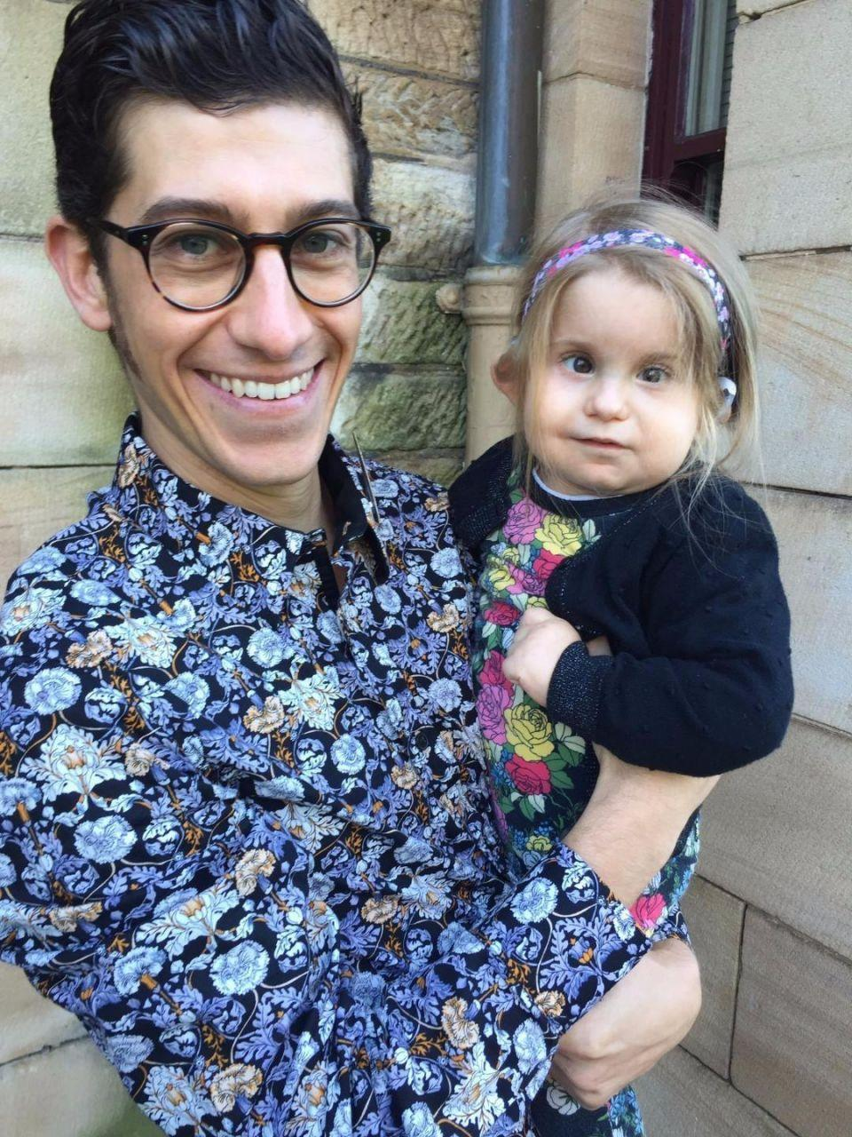 Daddy-daughter florals are so hot right now. Source: Supplied