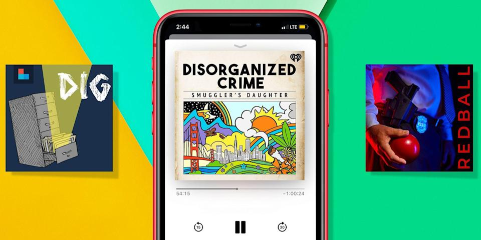 """<p>If you're looking for some spine-tingling escapism to take your mind off 2020, look no further than a <a href=""""https://www.womenshealthmag.com/life/g27378838/best-true-crime-podcasts/"""" rel=""""nofollow noopener"""" target=""""_blank"""" data-ylk=""""slk:true crime podcast"""" class=""""link rapid-noclick-resp"""">true crime podcast</a>. This year has delivered some seriously chilling episodes that are practically guaranteed to keep you on the edge of your seat.</p><p>Ever since Sarah Koenig basically invented the genre with <em>Serial</em>, true crime pod hosts all over the world have helped solve cold cases, highlight issues in criminal justice system, and even contribute to ongoing criminal investigations in real time. Fan favorites like <em>My Favorite Murder </em>and <em>Crime Junkie </em>have spawned production companies and spinoffs, plus devoted fan bases and merch galore that all (normally) come together at <a href=""""https://www.crimecon.com/housearrest?gclid=CjwKCAiAkan9BRAqEiwAP9X6UQqZk7UT0HO1NLVO-Jte6tOQPTpqaSUkb6w6EKspfTzUqXj2QRY4nRoC6fEQAvD_BwE"""" rel=""""nofollow noopener"""" target=""""_blank"""" data-ylk=""""slk:CrimeCon in Las Vegas"""" class=""""link rapid-noclick-resp"""">CrimeCon in Las Vegas</a>. </p><p>From snipers to serial killers to Taco Bell Stranglers, these 55 best true crime podcasts of 2020 offer something for every listener. There's one about a missing starlet in L.A., and another focusing on a <em>Bachelor</em>-esque game show gone horribly wrong. (True story!) There's even one about the false convictions during the Satanic Panic of the 1980s, and a few episodes about the actual Satanism of the era. </p><p>On Ashley Flowers' new show, <em>Supernatural</em>, she takes a close look at the stories that seem too weird to be true, like twins claiming to be from ancient Egypt. And of course, there's <em>Criminal, </em>a lovely, literary podcast featuring cultural analysis uncovering the societal factors that may have contributed to the crimes. But while all of these picks are wickedly th"""