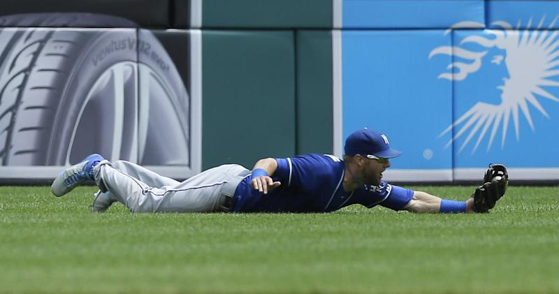 KC's Gordon out of lineup with flu-like symptoms
