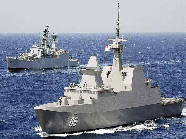 31th edition of India-Thailand Coordinated Patrol being underway between the Indian Navy and the Royal Thai Navy