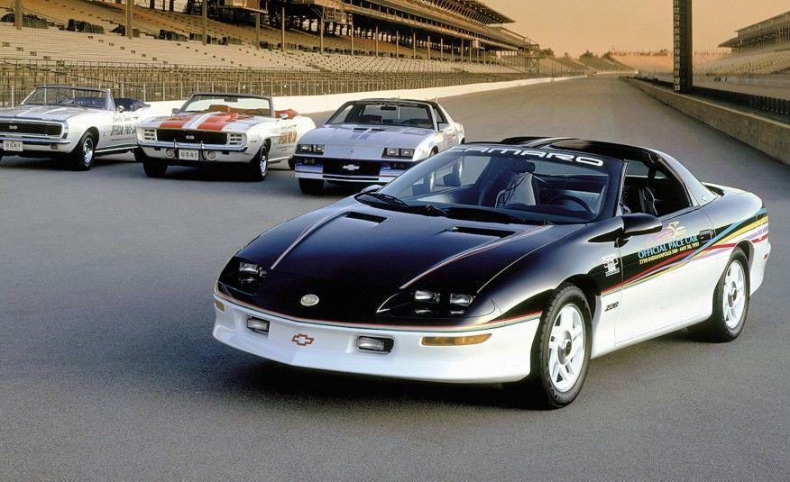 <p>In 1993, the Camaro paced the Indianapolis 500 for the fourth time. And this time, it did the deed in strictly stock form.</p>