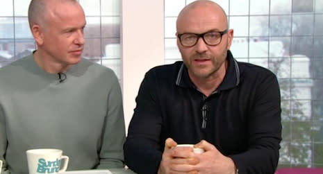 Simon Rimmer issued an apology to Jon Richardson on the show. (Channel 4)