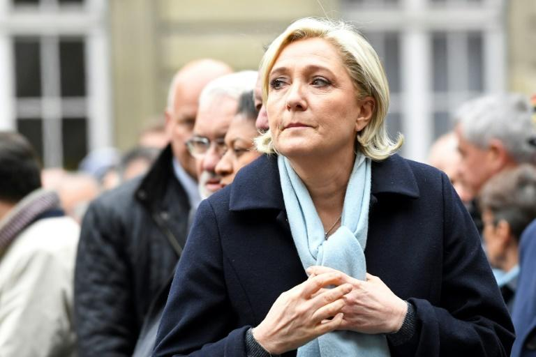 Marine Le Pen is seen to have been first out of the blocks for the second round campaign