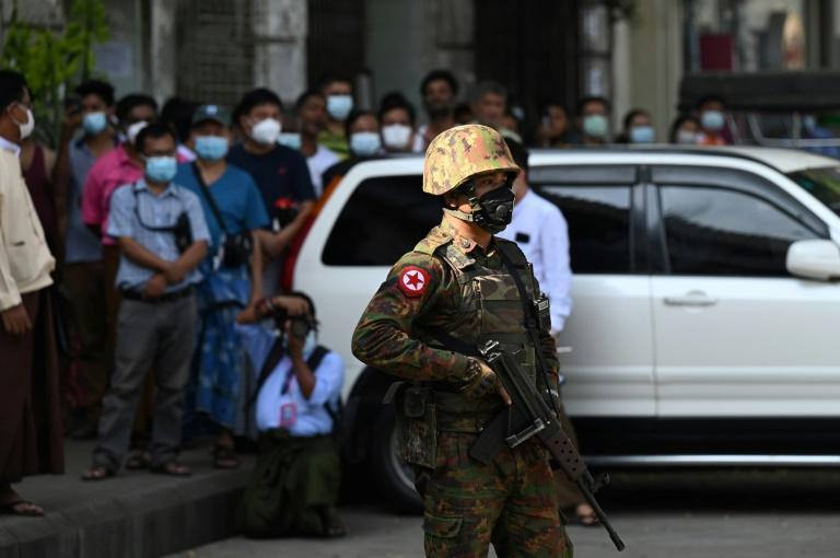 Myanmar youth say they are unlikely to confront the troops now patrolling the streets without a clear signal from deposed leaders, or guidance from veterans of earlier civil strife
