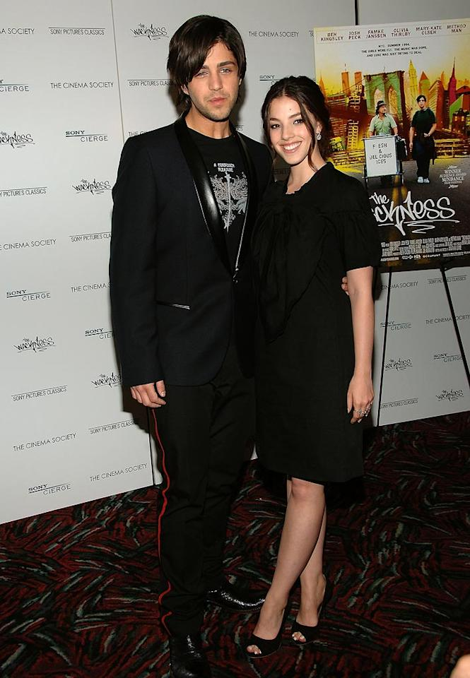 """<a href=""""http://movies.yahoo.com/movie/contributor/1800355322"""">Josh Peck</a> and <a href=""""http://movies.yahoo.com/movie/contributor/1808886035"""">Olivia Thirlby</a> at the New York City premiere of <a href=""""http://movies.yahoo.com/movie/1809922719/info"""">Wackness</a> - 06/25/2008"""