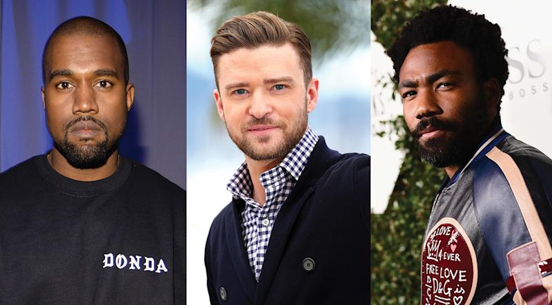 Kanye West, Justin Timberlake, & Childish Gambino to Headline Coachella