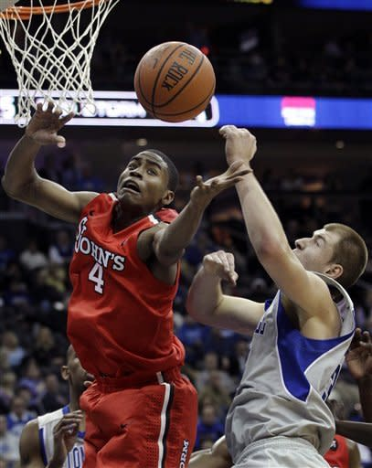 Seton Hall routs St. John's 94-64