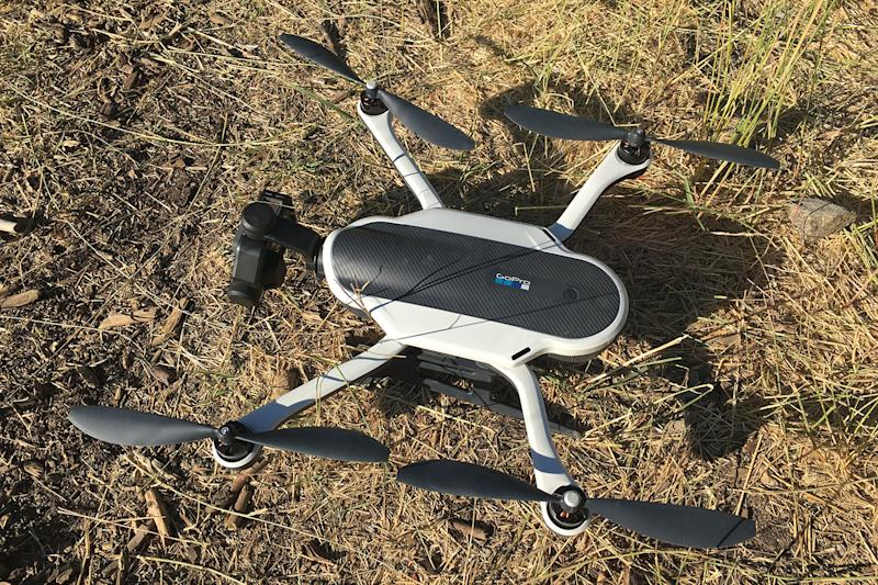 GoPro's Karma drone finally takes flight in the U.K. and other European countries