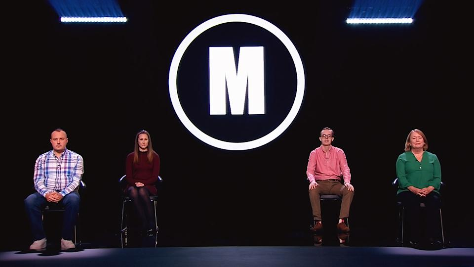 Mastermind 2020 contestants Richard Hayes, Amy Critchley, Jonathan Gibson, Barbara Bell. (BBC/Hat Trick/Hindsight Productions)