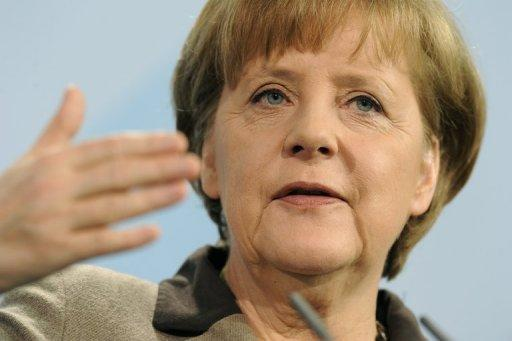 """Greece has a chance now,"" Angela Merkel said on Saturday"