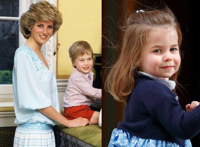 The 3-year-old Princess is one adorable doppelganger.