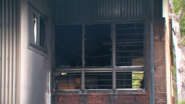 Damage to the school building