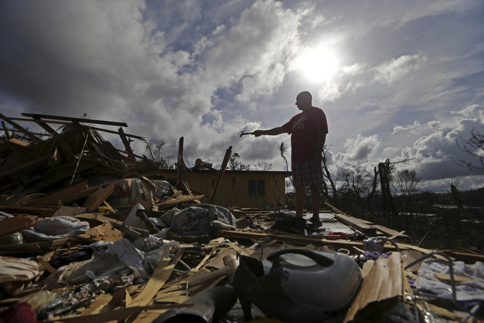The damage in Puerto Rico could set the island back decades, according to officials. (AP)