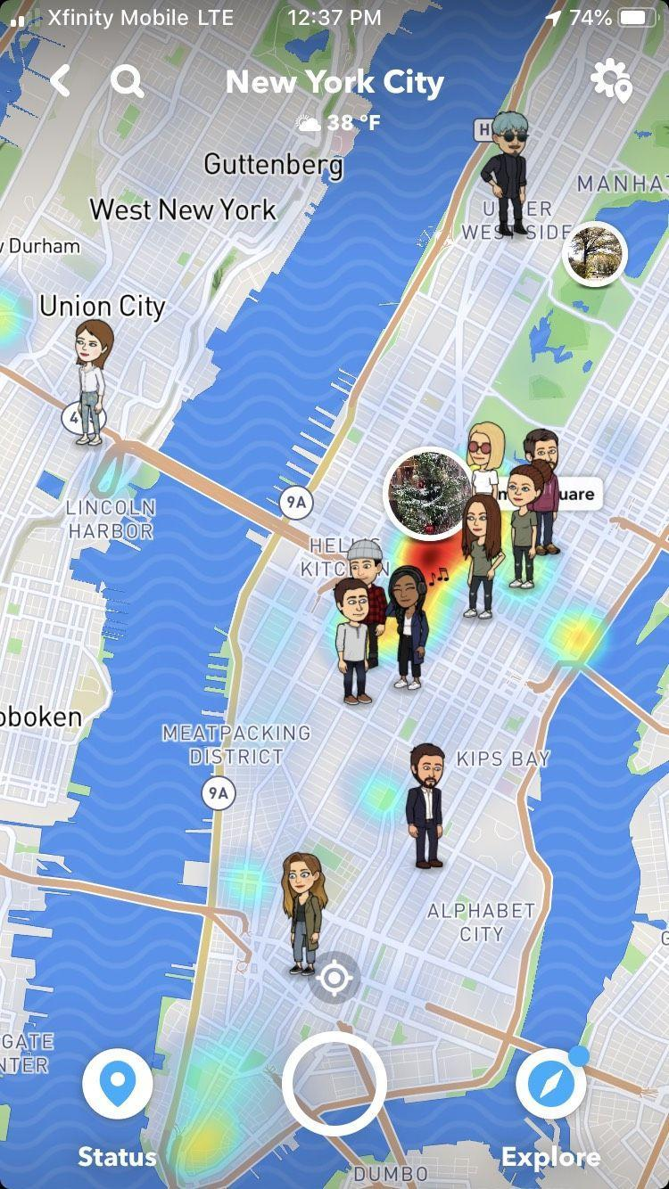 <p>If you wanted to know where your friends were, you'd have to call them or catch up with them in person. Now you can share your location via your smartphone or creepily look up your friends on apps like Snapchat or Find My Friends.</p>