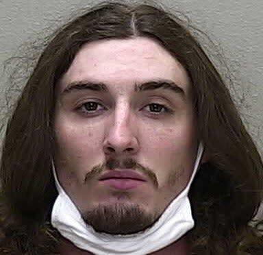 Steven Shields was arrested after driving a car into a Catholic Church and setting it on fire in Ocala, Florida: Marion County Sheriff's Office