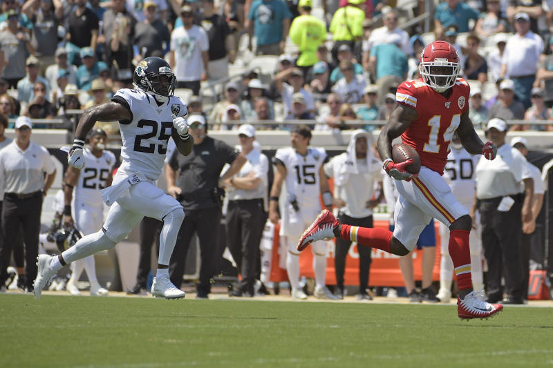 Chiefs wide receiver Watkins looks to build on breakout game