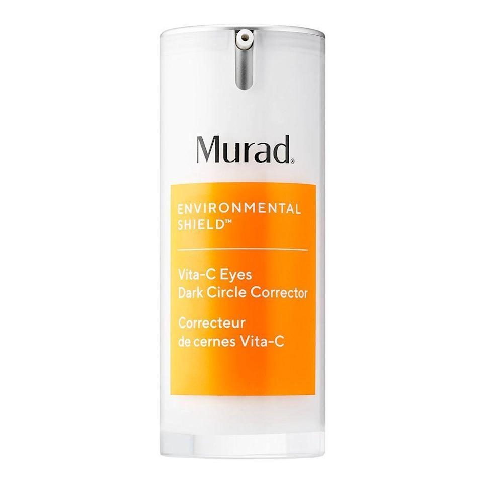 """<p><strong>Murad</strong></p><p>sephora.com</p><p><strong>$62.00</strong></p><p><a href=""""https://go.redirectingat.com?id=74968X1596630&url=https%3A%2F%2Fwww.sephora.com%2Fproduct%2Fmurad-vitamin-c-dark-circle-correcting-eye-serum-P456572&sref=https%3A%2F%2Fwww.bestproducts.com%2Fbeauty%2Fg20966726%2Fvitamin-c-face-serum-reviews%2F"""" rel=""""nofollow noopener"""" target=""""_blank"""" data-ylk=""""slk:Shop Now"""" class=""""link rapid-noclick-resp"""">Shop Now</a></p><p>When it comes to your eyes, giving them an extra boost of TLC is a <em>must</em> in skincare 101. So, if your undereyes are looking a little tired, then give them an added dose of this vitamin C serum from Murad. It works to hydrate, brighten, and tighten the skin around your eyes to avoid dark circles, sagging, and puffiness.</p>"""