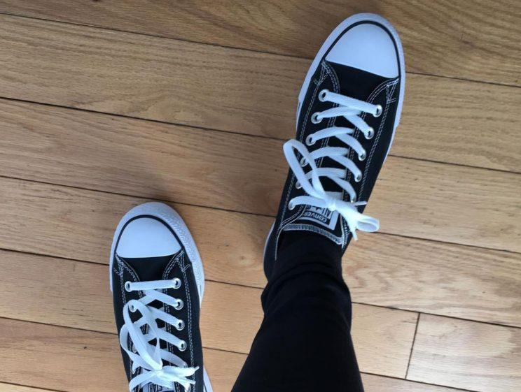 Chelsea Manning shares first Instagram out of prison wearing Converse sneakers