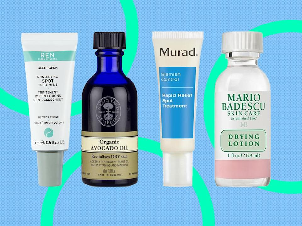 Keep an eye out for salicylic, glycolic and lactic acids in the ingredient lists (The Independent)