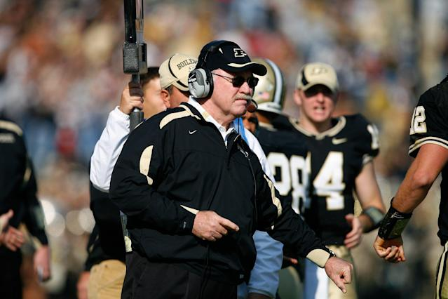 Tiller coached at Purdue from 1997-2008. (Getty Images)