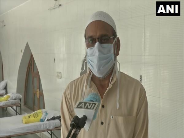 Joint Secretary, Managing Committee, Green Park Mosque, Mohammad Salim. (Photo/ANI)