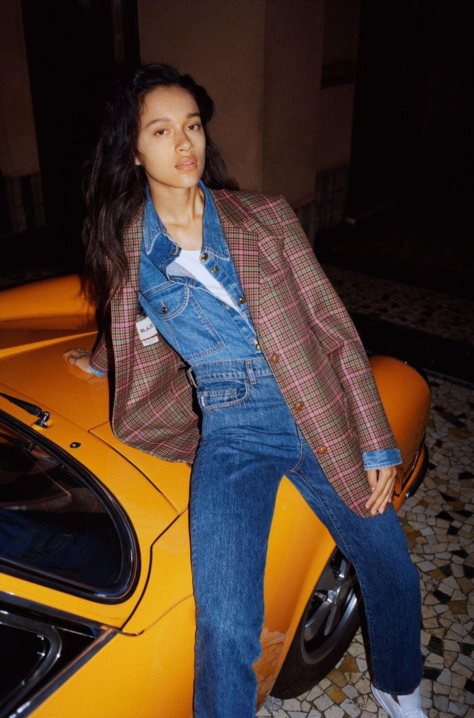 <p>For Blazé Milano, blazers don't always have to mean business. As actress Annabelle Belmondo (yes, that Belmondo, Breathless fans) demonstrates in the brand's spring 2021 lookbook—where she lounges in and against a yellow convertible on the cobblestone streets of Milan—they can also mean a whole lot of other things depending on the style. Ready to party? Try the one in ikat. Gearing up for a dinner under the stars? The white double-breasted version has your name on it. Need something for everyday? The pink-and-green tartan style will do nicely. Whether you dress it up with heeled sandals or down with sneakers, in a Blazé Milano blazer you know that you're dressed right.—<em>Barry Samaha</em></p>