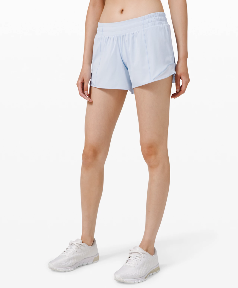 Hotty Hot Short II (Long). Image via Lululemon.