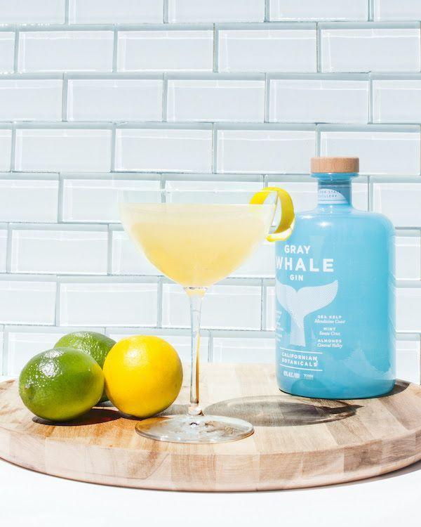 """<p><strong>Ingredients</strong> </p><p>5 parts Gray Whale Gin<br>1 part dry vermouth <br>2 dashes orange bitters</p><p><strong>Instructions</strong></p><p>Build all ingredients in a shaker tin with ice and shake. Strain into a coupe and garnish with a lemon twist. </p><p><strong>More:</strong> <a href=""""https://www.townandcountrymag.com/leisure/drinks/g2171/gin-cocktail-recipes/"""" rel=""""nofollow noopener"""" target=""""_blank"""" data-ylk=""""slk:Gin Cocktails That Aren't a Gin and Tonic"""" class=""""link rapid-noclick-resp"""">Gin Cocktails That Aren't a Gin and Tonic</a></p>"""