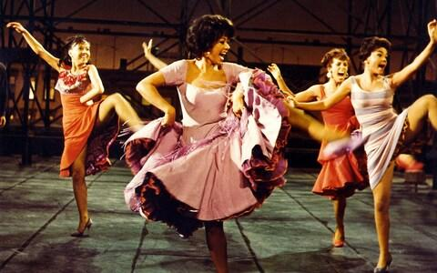 Rita Moreno in West Side Story - Credit: REX/Moviestore Collection