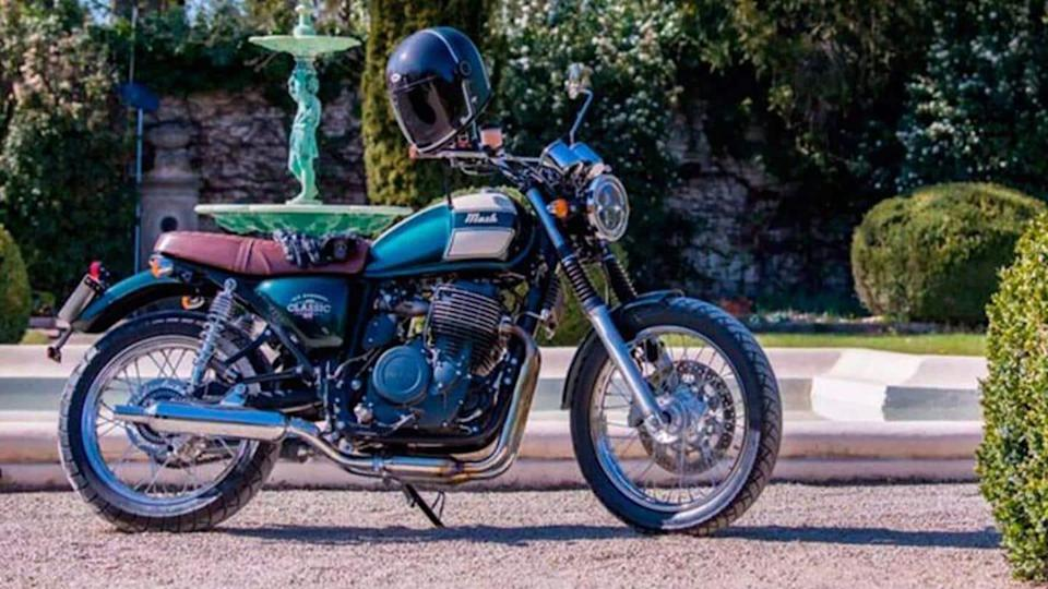 Mash Six Hundred 650 motorcycle, with Euro 5-compliant engine, unveiled