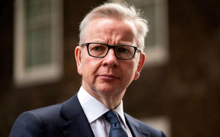 Michael Gove said the relocation was part of the Government's plan to 'level up' the UK's regions - WILL OLIVER/EPA-EFE/Shutterstock