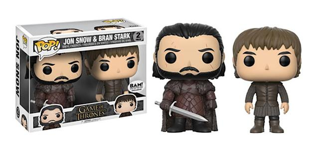 <p>The two-pack is only available through Books-a-Million, but the figures are also available separately. </p>