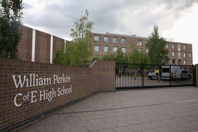Police spoke with another student from the William Perkin C of E High School in Greenford.