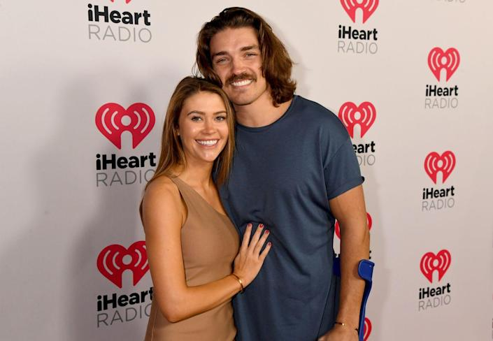 """<p>During season six of <em>Paradise</em>, Dean (best known from Rachel's season of <em>The Bachelorette</em> and season four of <em>Paradise</em>) broke up with new love interest Caelynn (from Colton Underwood's season of <em>The Bachelor</em>) on her <em>birthday</em>. Dean left the show, but returned a few episodes later to win her back, and they left as a couple.</p><p>Since then, the couple have traveled the world together, and even lived in Dean's van. Dean shared on his <a href=""""https://www.iheart.com/podcast/658-help-i-suck-at-dating-with-28480723/"""" rel=""""nofollow noopener"""" target=""""_blank"""" data-ylk=""""slk:Help! I Suck At Dating podcast"""" class=""""link rapid-noclick-resp""""><em>Help! I Suck At Dating </em>podcast</a> that they bought a house together in the Las Vegas area, so things seem to be going well between these two! </p>"""
